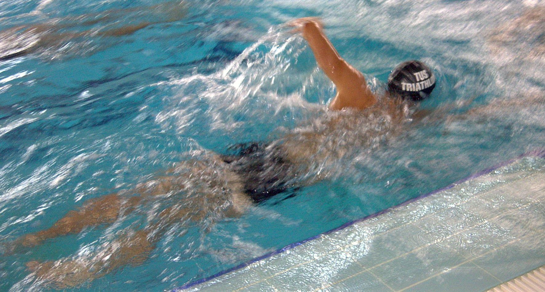 schwimmer-leer